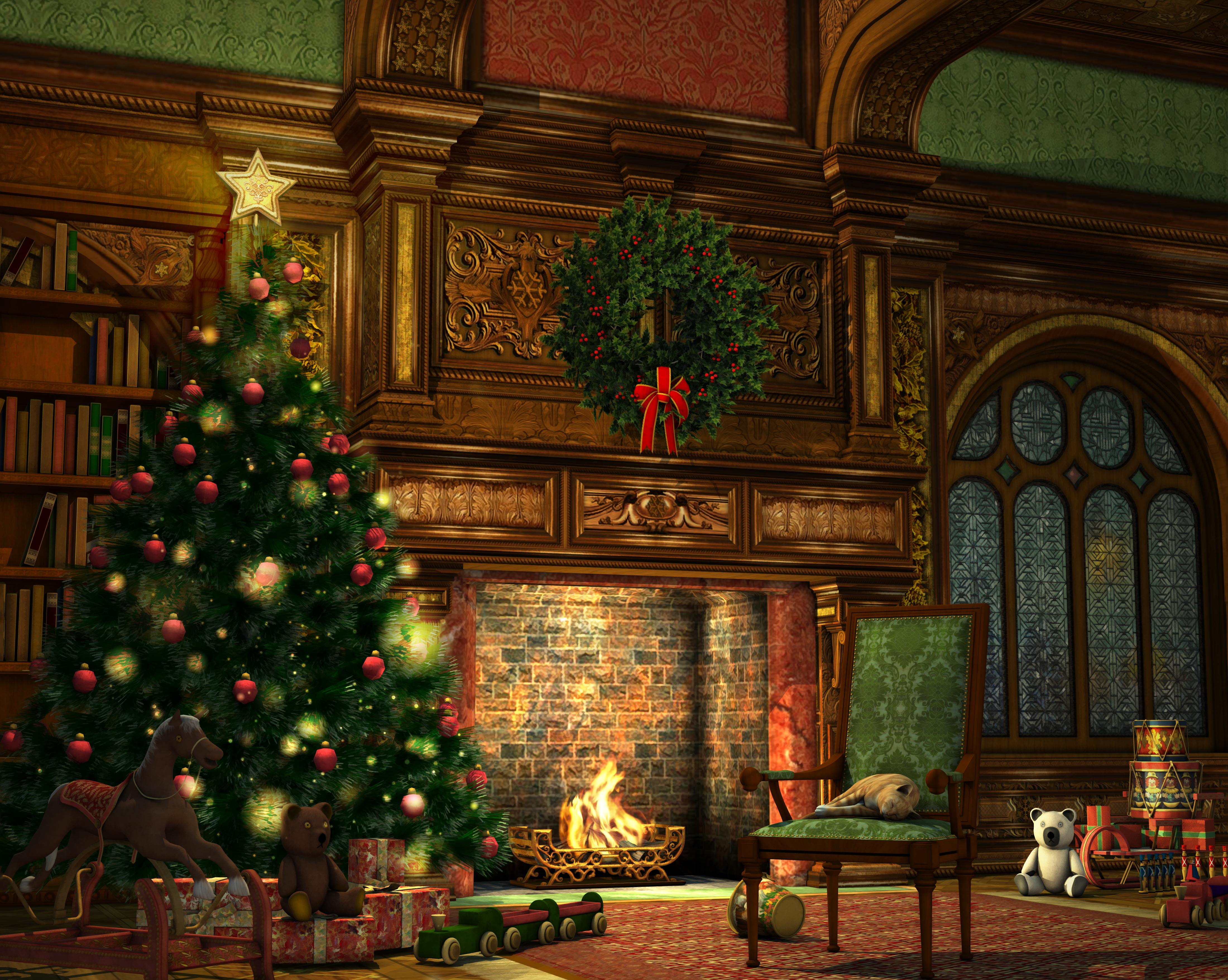 Christmas in Merry Old Regency England ~ Simply Romance